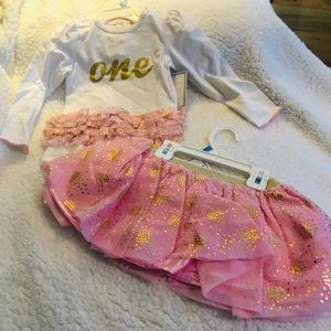1st Birthday 2pc Outfit